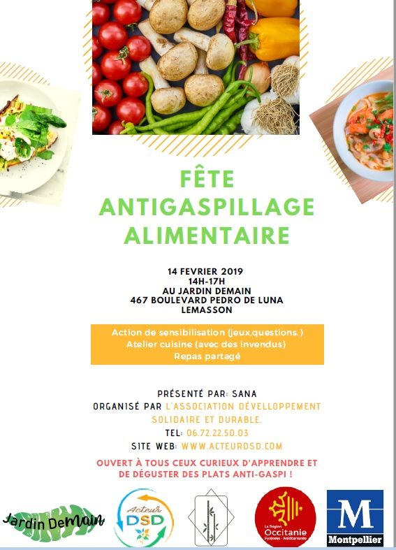 Fete Antigaspillage alimentaire